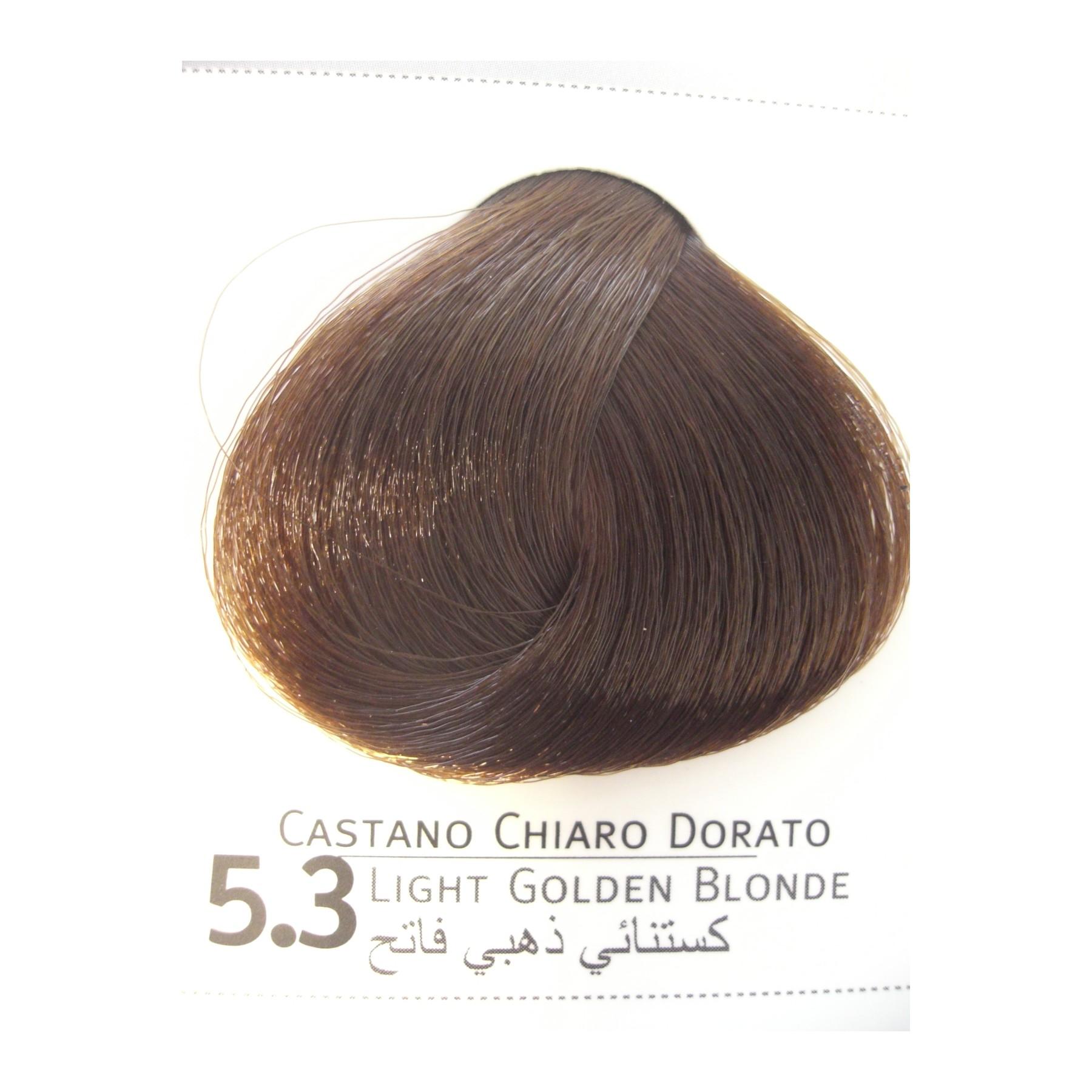 Super Colore castano chiaro dorato, tinture professionali capelli Envie EE18