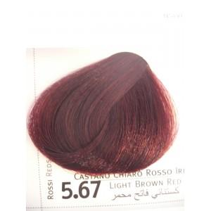 Envie color 5.67 castano chiaro rosso irise